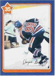 1982-83 Neilson's Gretzky #35 The Drop Pass