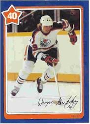 1982-83 Neilson's Gretzky #40 Clear the Slot
