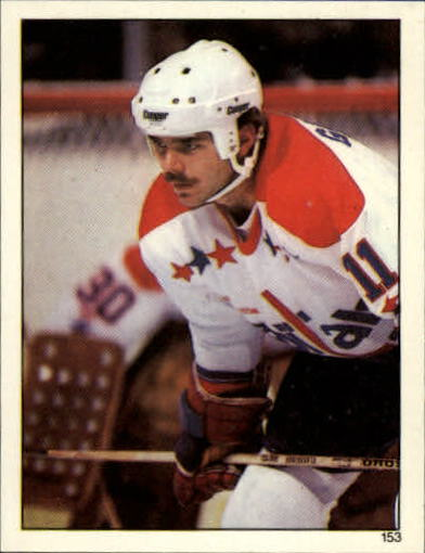 1982-83 Topps Stickers #153 Mike Gartner