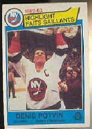 1983-84 O-Pee-Chee #2 Denis Potvin HL