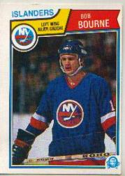 1983-84 O-Pee-Chee #4 Bob Bourne