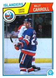 1983-84 O-Pee-Chee #5 Billy Carroll RC