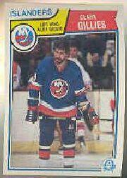 1983-84 O-Pee-Chee #6 Clark Gillies