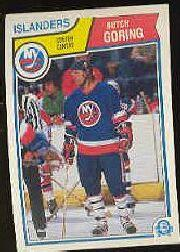1983-84 O-Pee-Chee #7 Butch Goring