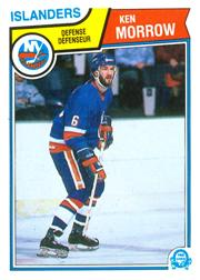 1983-84 O-Pee-Chee #13 Ken Morrow