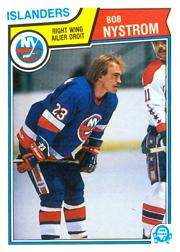 1983-84 O-Pee-Chee #14 Bob Nystrom