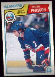 1983-84 O-Pee-Chee #15 Stefan Persson