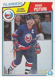 1983-84 O-Pee-Chee #16 Denis Potvin