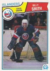 1983-84 O-Pee-Chee #17 Billy Smith