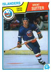 1983-84 O-Pee-Chee #18 Brent Sutter