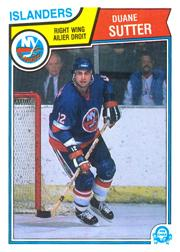 1983-84 O-Pee-Chee #19 Duane Sutter