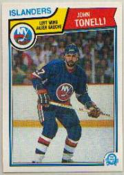 1983-84 O-Pee-Chee #20 John Tonelli