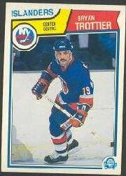 1983-84 O-Pee-Chee #21 Bryan Trottier