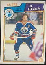 1983-84 O-Pee-Chee #26 Lee Fogolin