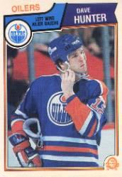 1983-84 O-Pee-Chee #32 Dave Hunter