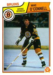 1983-84 O-Pee-Chee #56 Mike O'Connell