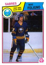 1983-84 O-Pee-Chee #63 Mike Foligno