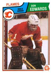 1983-84 O-Pee-Chee #80 Don Edwards front image