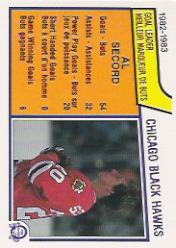 1983-84 O-Pee-Chee #95 Al Secord SL