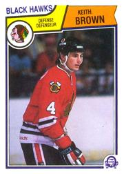 1983-84 O-Pee-Chee #98 Keith Brown