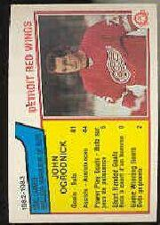 1983-84 O-Pee-Chee #115 John Ogrodnick SL