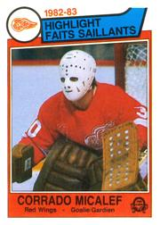 1983-84 O-Pee-Chee #116 Corrado Micalef HL