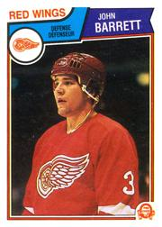 1983-84 O-Pee-Chee #117 John Barrett
