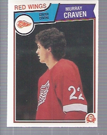 1983-84 O-Pee-Chee #120 Murray Craven RC