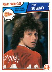 1983-84 O-Pee-Chee #121 Ron Duguay