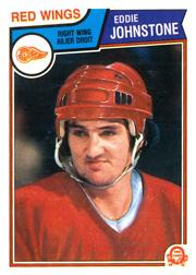 1983-84 O-Pee-Chee #124 Ed Johnstone