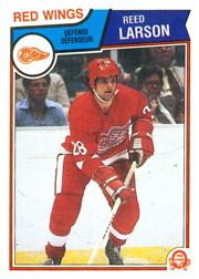 1983-84 O-Pee-Chee #125 Reed Larson