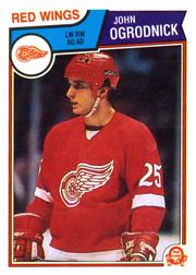 1983-84 O-Pee-Chee #128 John Ogrodnick