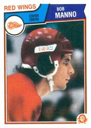 1983-84 O-Pee-Chee #132 Bob Manno