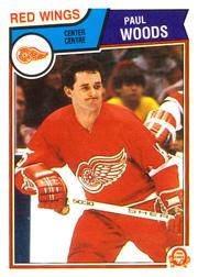 1983-84 O-Pee-Chee #133 Paul Woods