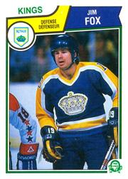 1983-84 O-Pee-Chee #154 Jim Fox