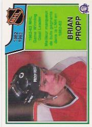 1983-84 O-Pee-Chee #218 Brian Propp LL