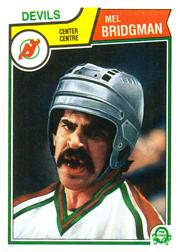1983-84 O-Pee-Chee #226 Mel Bridgman front image