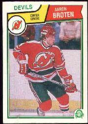 1983-84 O-Pee-Chee #227 Aaron Broten