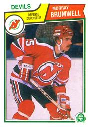 1983-84 O-Pee-Chee #228 Murray Brumwell RC