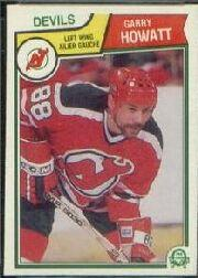 1983-84 O-Pee-Chee #229 Garry Howatt
