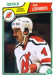 1983-84 O-Pee-Chee #232 Bob Lorimer