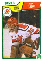 1983-84 O-Pee-Chee #233 Ron Low