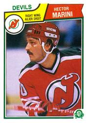 1983-84 O-Pee-Chee #235 Hector Marini RC