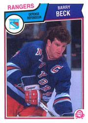 1983-84 O-Pee-Chee #241 Barry Beck