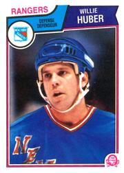1983-84 O-Pee-Chee #246 Willie Huber