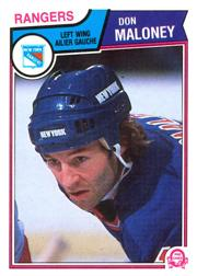 1983-84 O-Pee-Chee #250 Don Maloney
