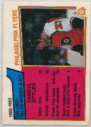 1983-84 O-Pee-Chee #257 Darryl SittlerSL front image