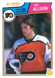 1983-84 O-Pee-Chee #259 Ray Allison