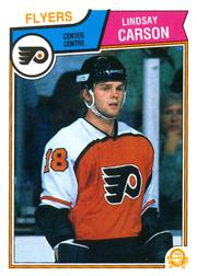 1983-84 O-Pee-Chee #261 Lindsay Carson RC