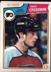 1983-84 O-Pee-Chee #263 Doug Crossman